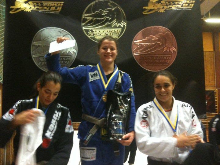 Ida Hansson, guld i brun/svartbältes klassen!