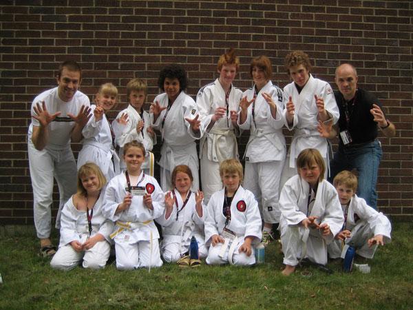 Grymma barn- och juniorfighters från Stenungsunds KA