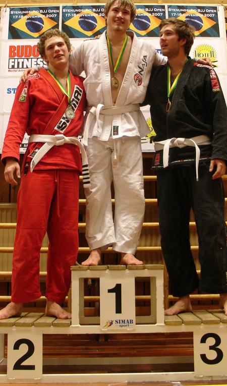 """Tävlingens sista match placerade """"Antomen"""" på en 2:a plats i öppna viktklassen. Grattis!"""