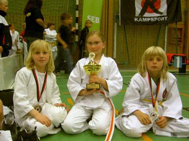 Våra stolta medaljörer, Isac, Josefine och Alex