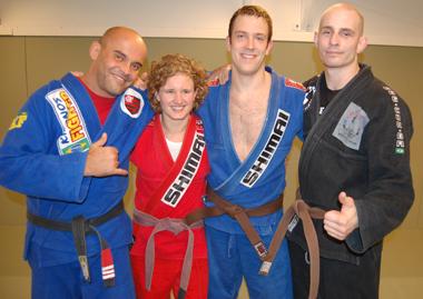 Marcelo, Ingrid, Martin och August