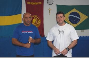 Marcelo är vår ansvarige instruktör på BJJ-sidan, nu i hetluften i Brasilien.