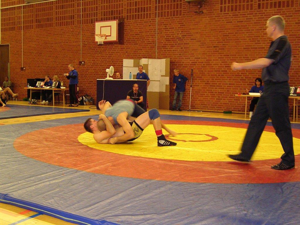 Martin i final i -91 kg mot Martin Rhod ifrån Danmark