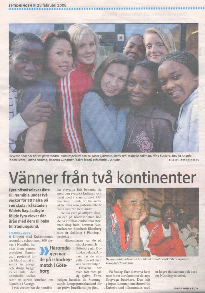 Läs reportage i ST-tidningen om projektet