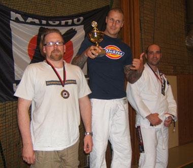 Lars Ove Nilsson tar brons i sin första BJJ-tävling!