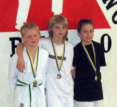 Alex med silvermedalj!