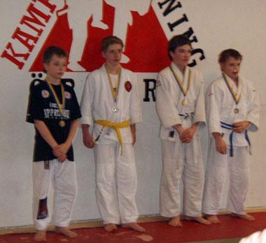 Mattias med bronsmedalj!