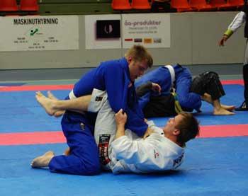 Mikael Forssén mot Marffy junior som sedan gick vidare till final mot Gladius Calle Bisjö