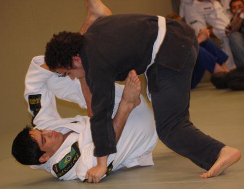 Samir gör bra match mot Rami