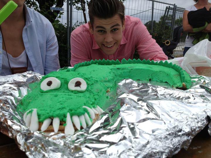 Krokodiltårta! :)