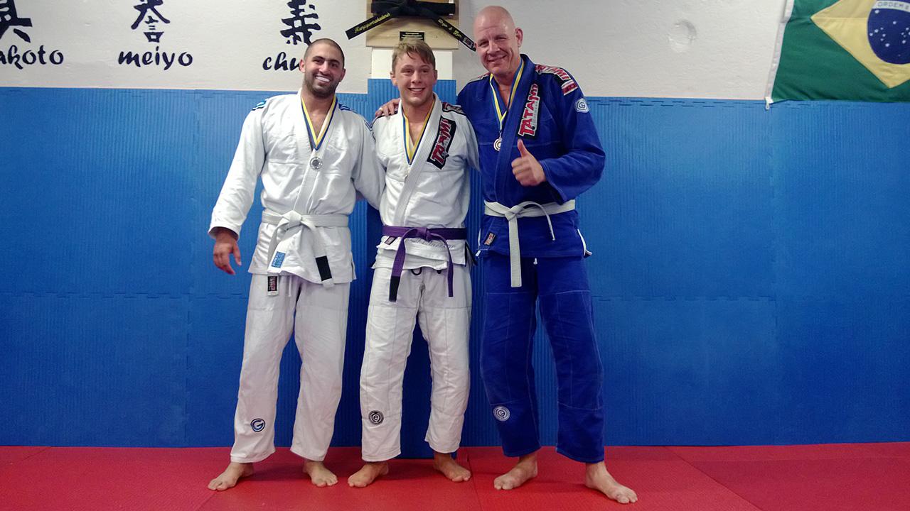 Teddy Hobeika (Shindo), Joel Claesson, Mikhael Jansson